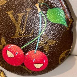 🍒Louis Vuitton Cherries Cerise's Round Coin purse